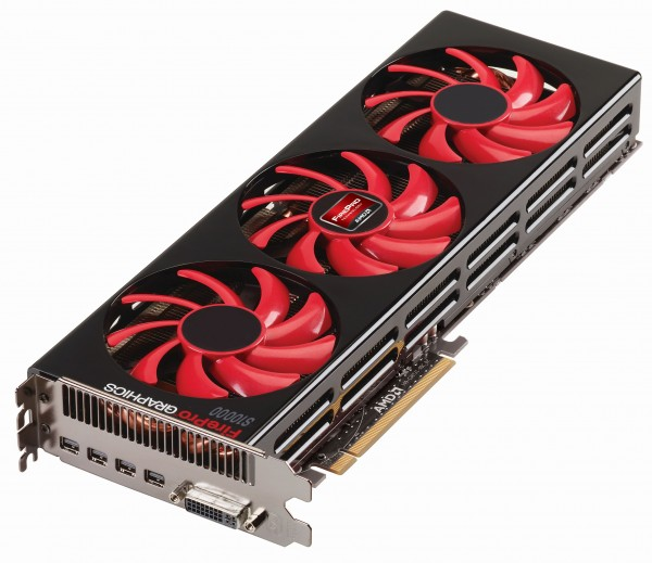 AMD FirePro S10000 6GB PCIe 3.0 Active Cooling