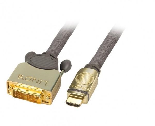 Lindy DVI-D auf HDMI Adapter 1m