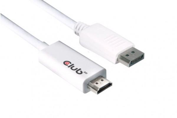 Club3D DisplayPort auf HDMI Adapter 3m