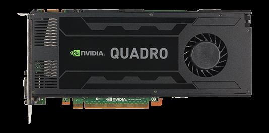 PNY NVIDIA Quadro K4200 4GB PCIe 2.0