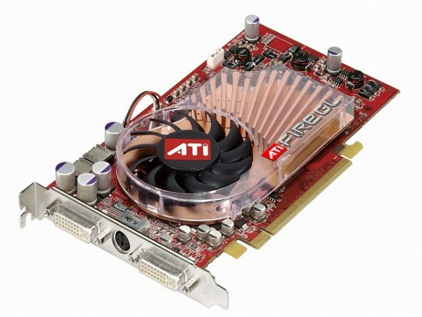 ATI FireGL V5100 128MB PCIe