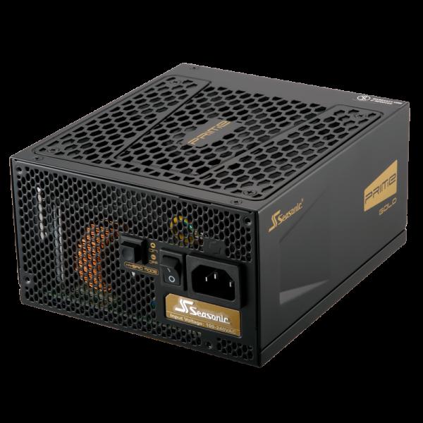 Hochleistungsnetzteil 80+ Gold 650W mit geregeltem Lüfter