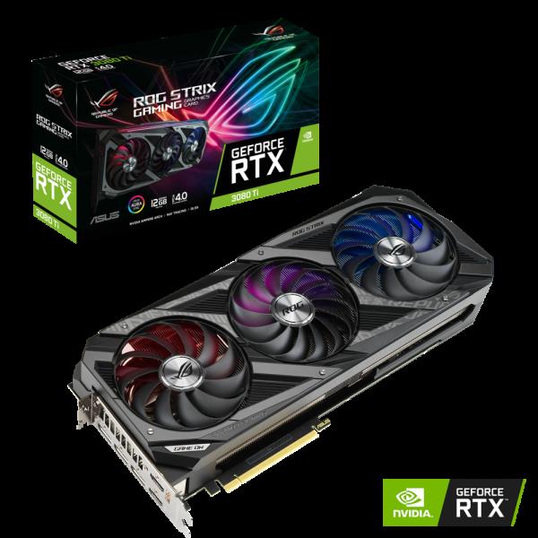 ASUS ROG Strix GeForce RTX 3070 Ti LHR 8GB PCIe 4.0