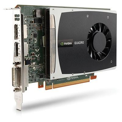 HP NVIDIA Quadro 2000 1GB PCIe 2.0