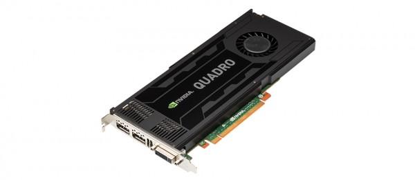 HP NVIDIA Quadro K4000 3GB PCIe 2.0