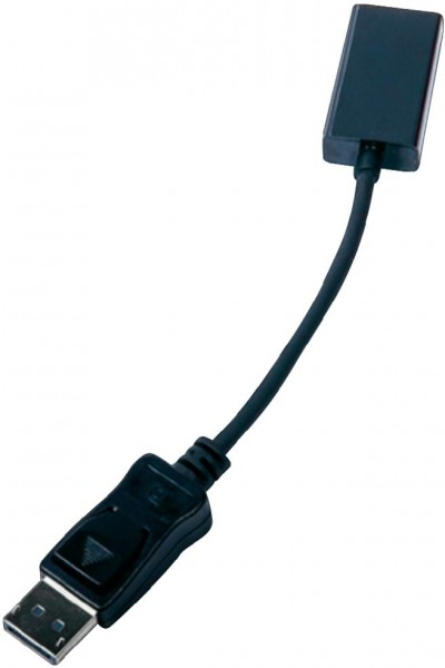 DisplayPort 1.2 auf HDMI 1.4a   3D / 4K Resolution @ 30Hz (aktiv)