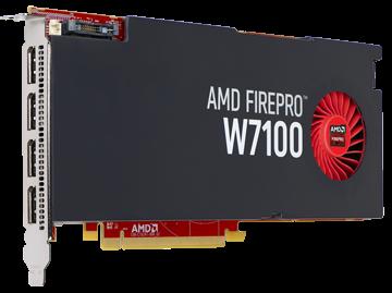 AMD FirePro W7100 8GB PCIe 3.0
