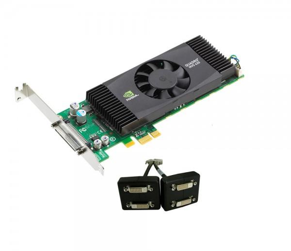 Grafikkarte PNY Quadro NVS 420 512MB PCI Express 16x - D-