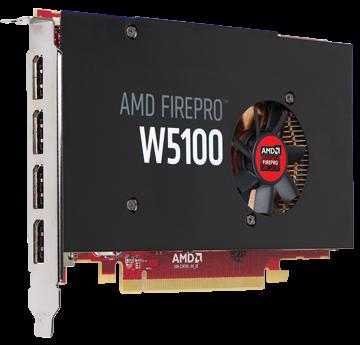 AMD FirePro W5100 4GB PCIe 3.0