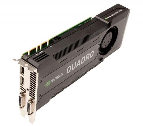 HP NVIDIA Quadro K5000 4GB PCIe 2.0