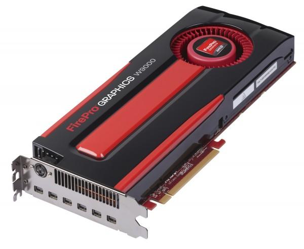 AMD FirePro W9000 6GB PCIe 3.0