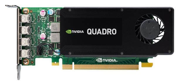 NVIDIA Quadro K1200 4GB PCIe 16x