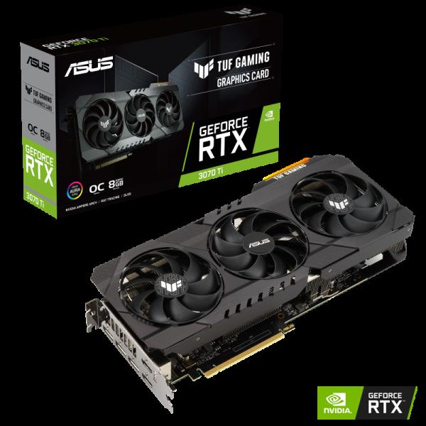 ASUS TUF GeForce RTX 3070 Ti OC 8GB PCIe 4.0