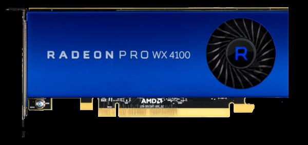 AMD RadeonPro WX 4100 4GB PCIe 3.0